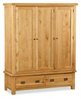 Clumber Triple Wardrobe