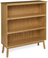 Malmo Wide Bookcase