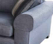Pair of Penthouse Accent Chair Arm Caps