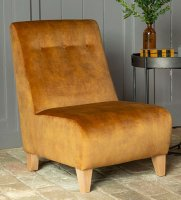 Alstons Lexi Armless Izzy Accent Chair