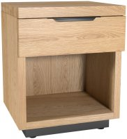 Fusion 1 Drawer Bedside Chest