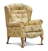 Lynton Fireside Chair - Light Oak Legs