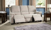 Albany Double Manual Recliner 3 Seater Sofa