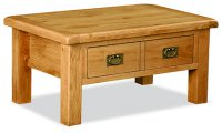 Clumber Coffee Table with Drawer