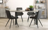 Clifton Fixed Top Dining Table & 4 Dning Chairs
