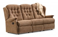 Lynton Standard Powered Reclining 3-seater - Dark Beech Knuckles