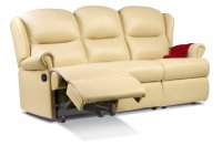 Malvern Small Rechargeable Powered Reclining 3-seater