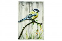 Great Tit on Wood