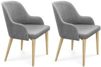 Clemence Richards 037 Fabric Dining Chairs