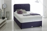 Healthbeds 5'0''  Body Cool Gel 1500 Mattress & 2 Drawer Divan Set