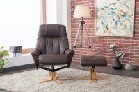 Darwin Recliner Chair & Footstool