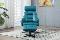 Stratford Recliner Chair & Stool