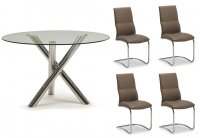 Orlando Dining Table & 4 Chairs