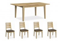 Dukeries Hardwick Small Extending Dining Table & 4 Chairs