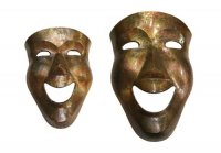 NEW IN.....Wall Art Giant Mask and Large Mask