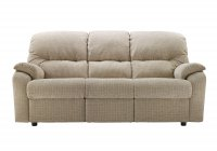 Mistral 3 Seater Manual Recliner DBL - 3 Cush