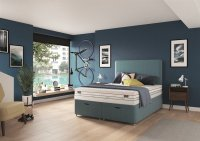 Dunlopillo Energise 25cm Mattress & 2 Drawer Divan