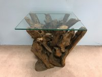 Woodland  Teak Root Side Table