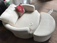 LOT 9 Cavendish Pandora Swivel Chair & Stool