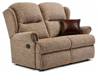 Malvern Standard Rechargeable Powered Reclining 2-seater