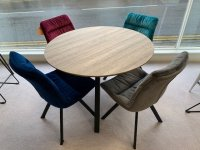 Chambery Round Table & 4 Provence  Chairs
