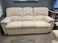 G-Plan Chloe 3Str Sofa, Elec Recliner Chair & Std Chair