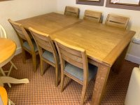 Large Clumber Dining Table & 6 Arlo Chair