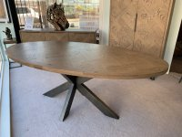 Ullswater 200cm Oval Dining Table
