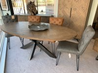 Ullswater 200cm Oval Dining Table & 4 Chairs
