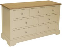 Harmony 3 + 4 Drawer Wide Chest