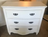 Baker Romance 3 Drawer Curved Chest