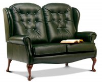 Lynton High Seat 2-seater - Dark Beech Legs