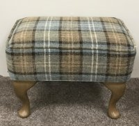 Edinburgh Queen Ann Footstool