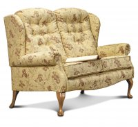 Lynton Fireside 2-seater - Light Oak Legs