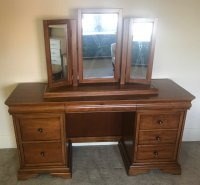 Willis & Gambier Louis Philippe Dressing Table & Mirror