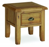 Dukeries Chatsworth Lamp Table with Drawer