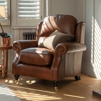 Oakham Armchair in Leather