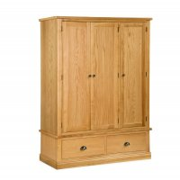 Dukeries Rufford Triple Wardrobe