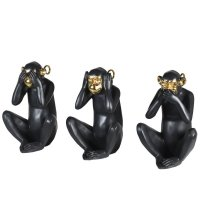 Black and Gold Monkeys