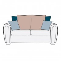 Memphis 3Str Pillow Back Settee