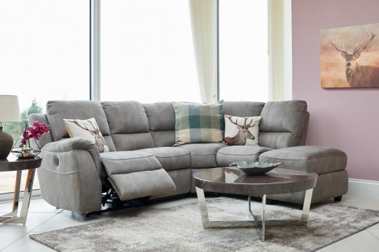 Venus Corner Group with Power Recline and Chaise LHF