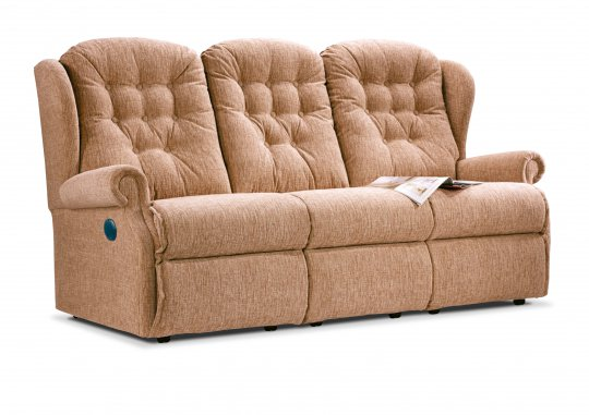 Lynton Small Powered Reclining 3-seater