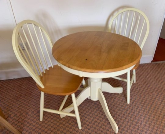 Kinver Round Table & 2 Chairs